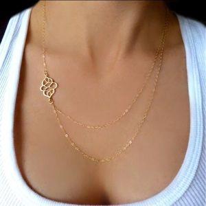 🆕 Elegant Gold Charm Necklace